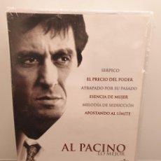 Cine: AL PACINO LO MEJOR - DVD NUEVO PRECINTADO. 6 PELÍCULAS. (ENVÍO 2,40€). Lote 221434218