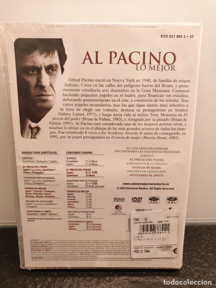 Cine: Al Pacino Lo Mejor - DVD Nuevo Precintado. 6 Películas. (Envío 2,40€) - Foto 2 - 221434218