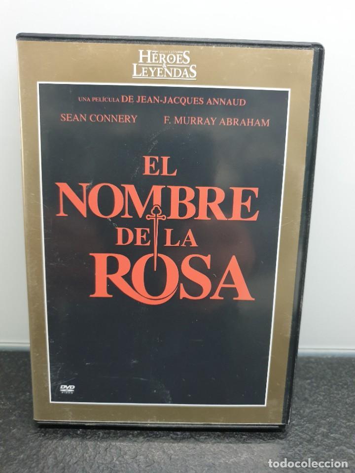 EL NOMBRE DE LA ROSA - DVD. SEAN CONNERY, CHRISTIAN SLATER, RON PERLMAN. (Cine - Películas - DVD)