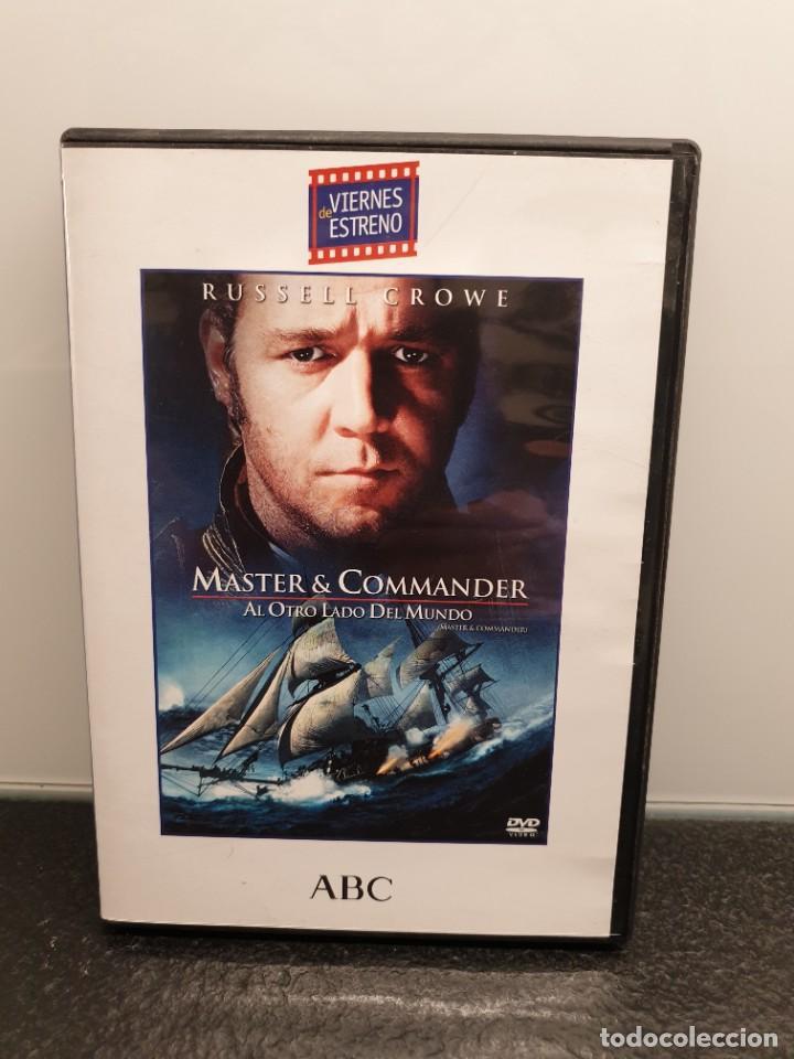 MASTER & COMMANDER AL OTRO LADO DEL MUNDO - DVD. RUSSELL CROWE, PAUL BETTANY, PETER WEIR. (Cine - Películas - DVD)
