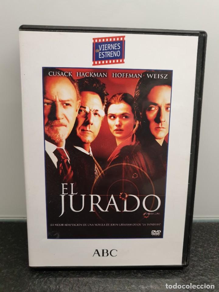 EL JURADO - DVD. JOHN CUSACK, GENE HACKMAN, DUSTIN FORMAN, RACHEL WEISZ. (Cine - Películas - DVD)