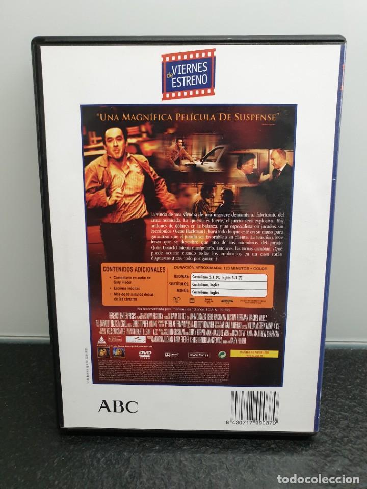 Cine: El Jurado - DVD. John Cusack, Gene Hackman, Dustin Forman, Rachel Weisz. - Foto 2 - 221434273