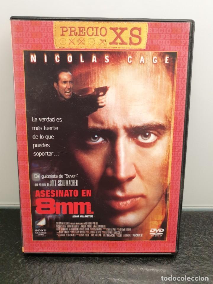 ASESINATO EN 8MM. - DVD. NICOLAS CAGE, JOAQUIN PHOENIX, JAMES GANDOLFINI, JOEL SCHUMACHER. (Cine - Películas - DVD)