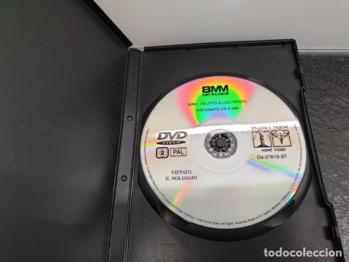 Cine: Asesinato en 8mm. - DVD. Nicolas Cage, Joaquin Phoenix, James Gandolfini, Joel Schumacher. - Foto 3 - 221434281