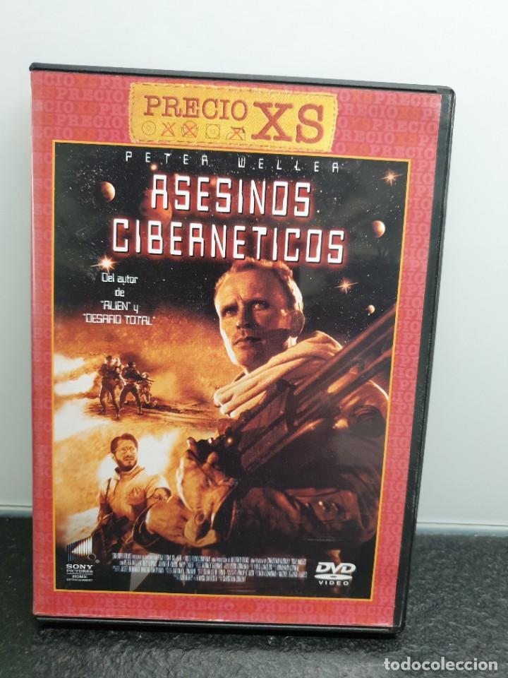 ASESINOS CIBERNÉTICOS - DVD. PETER WELLER, PHILIP K. DICK. (Cine - Películas - DVD)