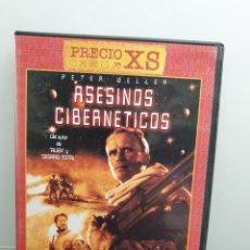 Cine: ASESINOS CIBERNÉTICOS - DVD. PETER WELLER, PHILIP K. DICK.. Lote 221434302