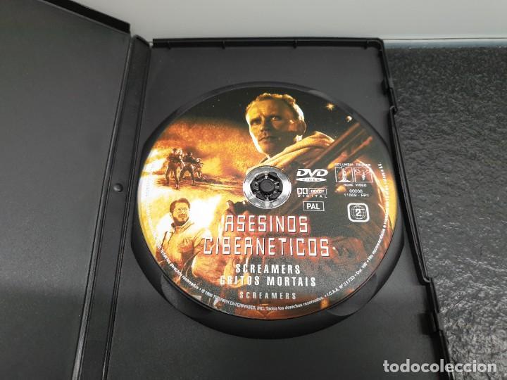 Cine: Asesinos Cibernéticos - DVD. Peter Weller, Philip K. Dick. - Foto 3 - 221434302