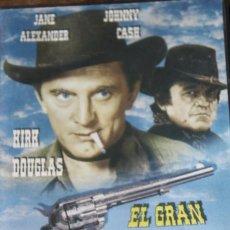 Cine: EL GRAN DUELO. KIRK DOUGLAS, JOHNNY CASH, JANE ALEXANDER, KAREN BLACK. Lote 221451175