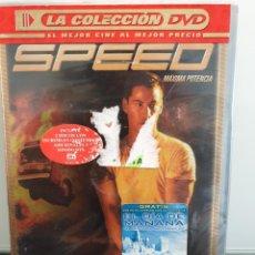 Cine: SPEED, MÁXIMA POTENCIA - DVD NUEVO PRECINTADO 2 DISCOS. KEANU REEVES, SANDRA BULLOCK (ENVÍO 2,40€). Lote 221477355