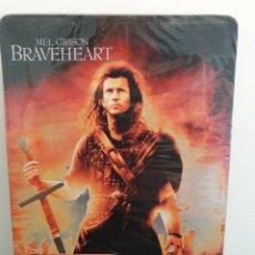 Cine: BRAVEHEART - DVD NUEVO PRECINTADO CAJA METÁLICA 2 DISCOS. MEL GIBSON (ENVÍO 2,40€). Lote 221478953