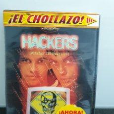 Cine: HACKERS PIRATAS INFORMÁTICOS - DVD NUEVO PRECINTADO. ANGELINA JOLIE (ENVÍO 2,50€). Lote 221484096