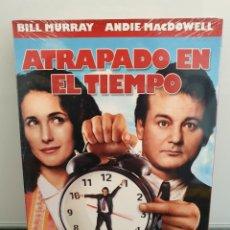 Cinéma: ATRAPADO EN EL TIEMPO - DVD NUEVO PRECINTADO 15° ANIVERSARIO. BILL MURRAY, HAROLD RAMIS(ENVÍO 2,40€). Lote 221486400