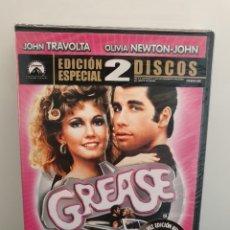 Cine: GREASE - DVD NUEVO PRECINTADO 2 DISCOS. JOHN TRAVOLTA (ENVÍO 2,40€). Lote 221490466