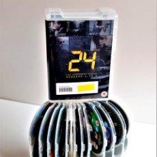 Cine: DVD SERIE 24 TEMPORADA 1 - 4 COMPLETA - ALBUM 24 DVDS. Lote 221493433