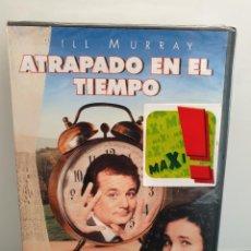 Cinema: ATRAPADO EN EL TIEMPO - DVD NUEVO PRECINTADO. BILL MURRAY, HAROLD RAMIS... Lote 221500636