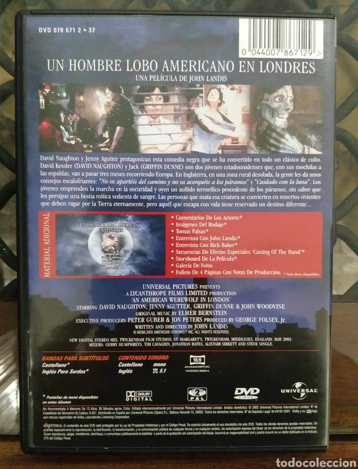 Cine: DVD - Un Hombre Lobo Americano en Londres --- de John Landis --- Incluye Folleto - Foto 2 - 221511778