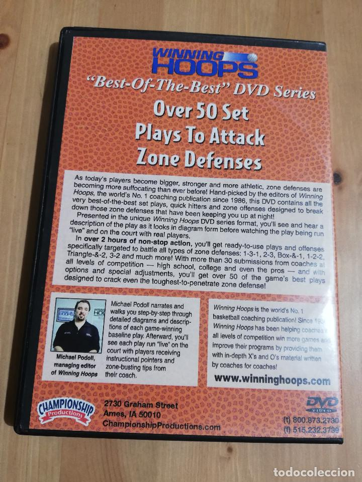 Cine: BEST OF THE BEST DVD SERIES: OVER 50 SET PLAYS TO ATTACK ZONE DEFENSES (DVD) - Foto 3 - 221514233
