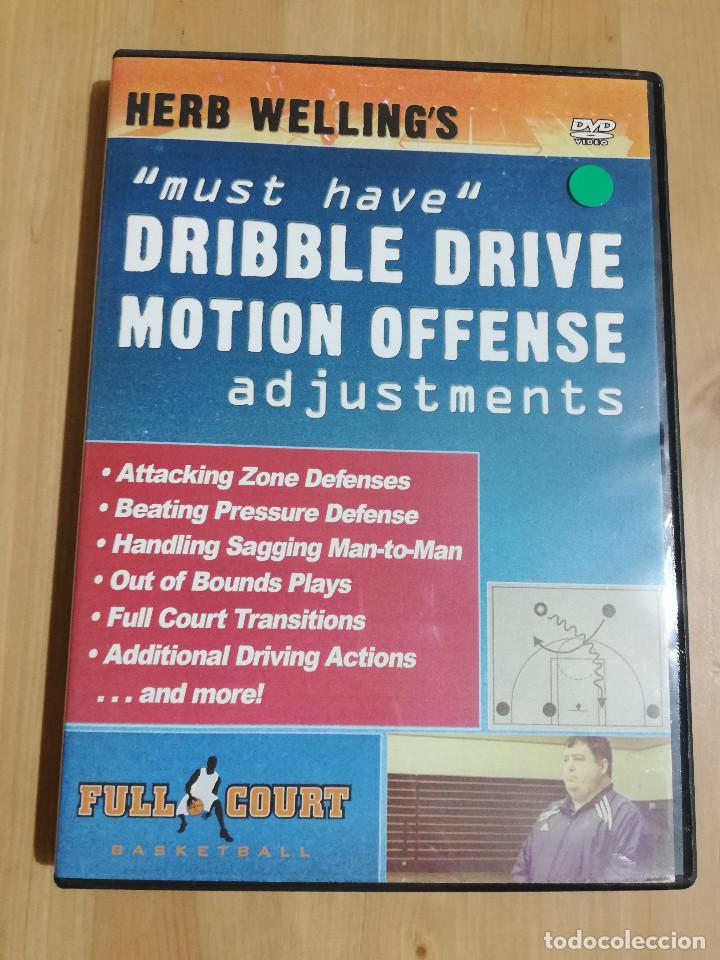 MUST HAVE DRIBBLE DRIVE MOTION OFFENSE ADJUSTMENTS (HERB WELLING'S) DVD (Cine - Películas - DVD)