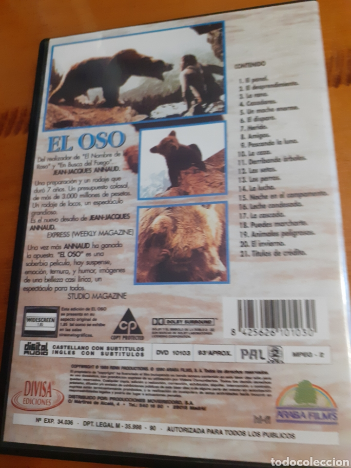 Cine: El oso Jean Jacques Annau - Foto 2 - 221514531