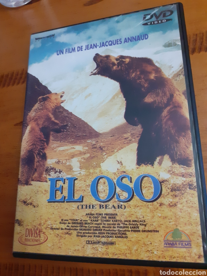 EL OSO JEAN JACQUES ANNAU (Cine - Películas - DVD)