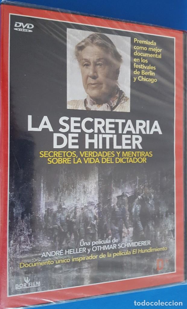 DVD / LA SECRETARIA DE HITLER, ANDRÉ HELLER Y OTHMAR SCHMIDERER, NUEVA Y PRECINTADA (Cine - Películas - DVD)