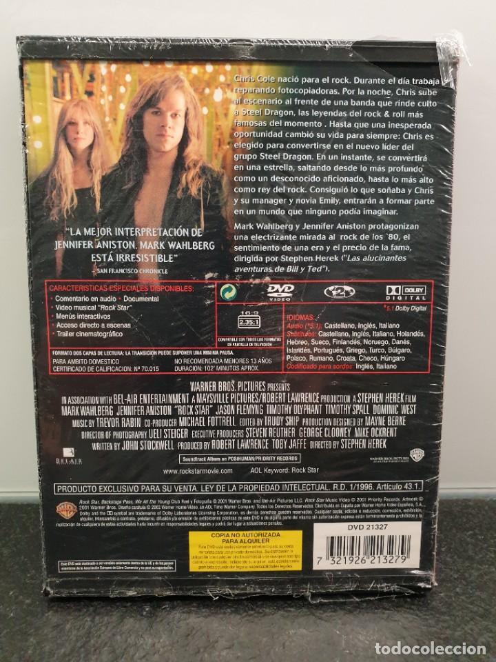 Cine: Rock Star - DVD Nuevo Precintado. Mark Wahlberg, Jennifer Aniston (Envío 2,40€) - Foto 2 - 221514662