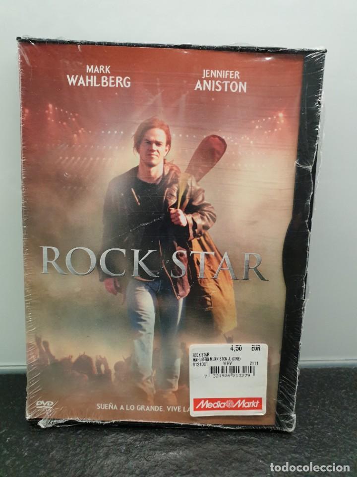 ROCK STAR - DVD NUEVO PRECINTADO. MARK WAHLBERG, JENNIFER ANISTON (ENVÍO 2,40€) (Cine - Películas - DVD)