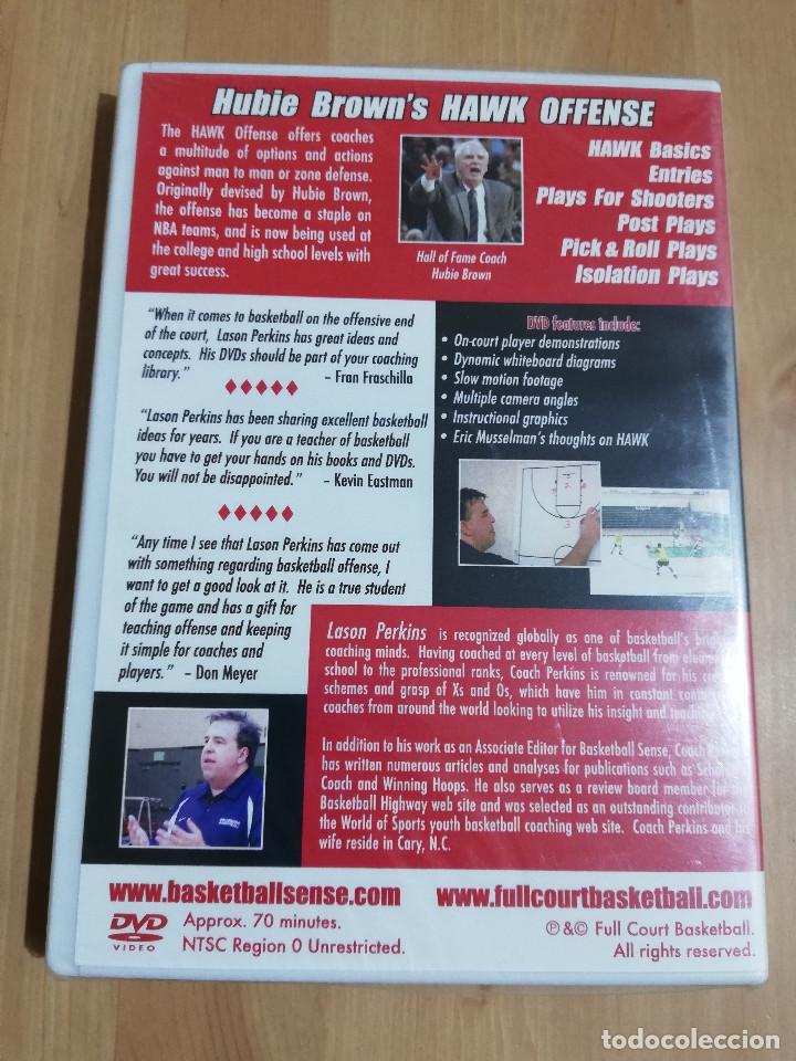 Cine: HUBIE BROWNS HAWK OFFENSE WITH LASON PERKINS (DVD) PRECINTADO - Foto 2 - 221514668