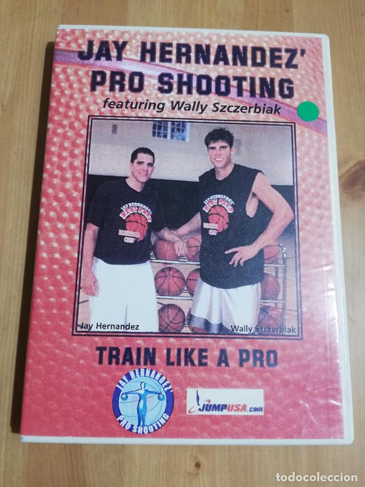 JAY HERNANDEZ' PRO SHOOTING FEATURING WALLY SZCZERBIAK. TRAIN LIKE A PRO (DVD) (Cine - Películas - DVD)