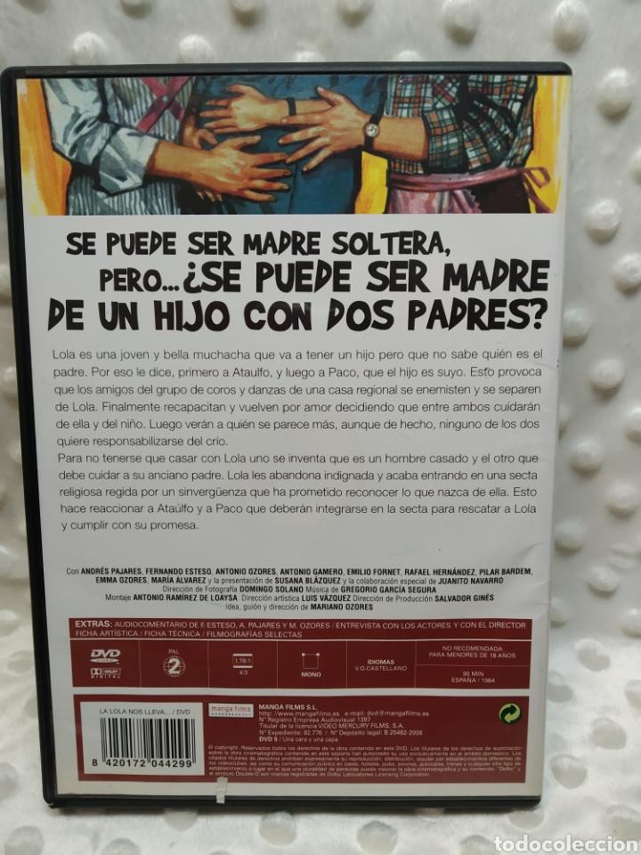 Cine: LA LOLA NOS LLEVA AL HUERTO - PAJARES, ESTESO - DVD - Foto 2 - 221515841