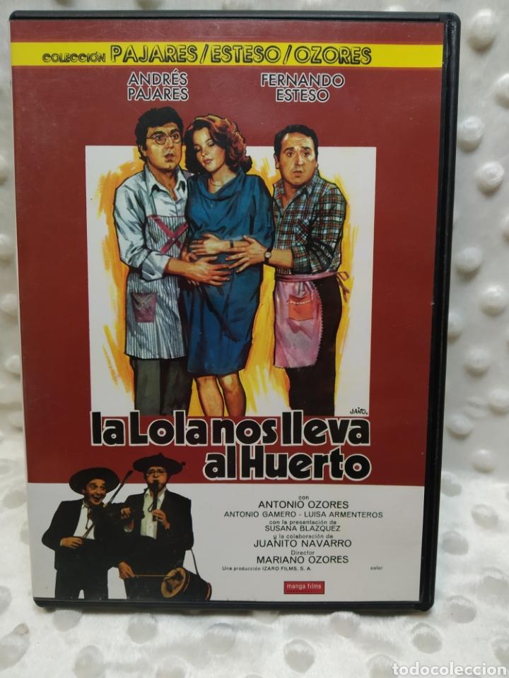 LA LOLA NOS LLEVA AL HUERTO - PAJARES, ESTESO - DVD (Cine - Películas - DVD)