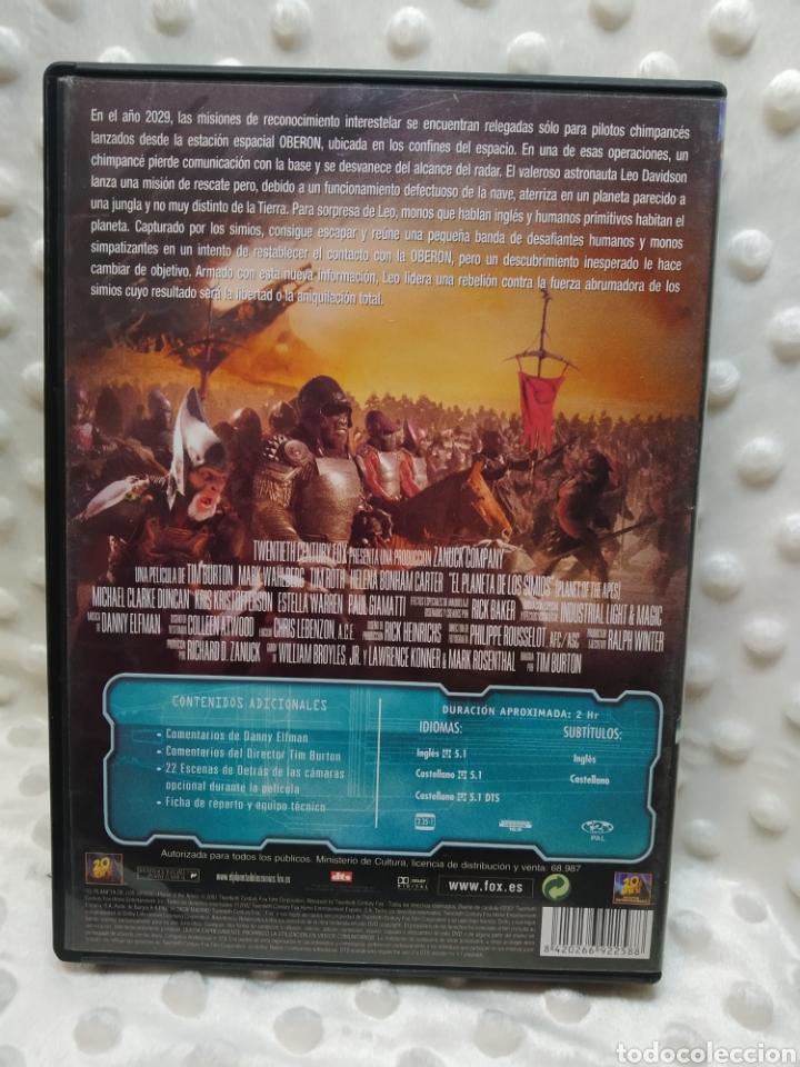 Cine: EL PLANETA DE LOS SIMIOS - DVD - Foto 2 - 221515986