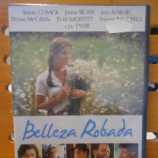 Cine: BELLEZA ROBADA. DVD DE LA PELICULA DE BERNARDO BERTOLUCCI. CON SINEAD CUSACK, JEREMY IRONS, JEAN MAR. Lote 221535676