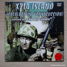 Cine: X214 ISLAND (BATALLÓN DE CONSTRUCCIÓN) - DVD SEGUNDA MANO. Lote 221583476