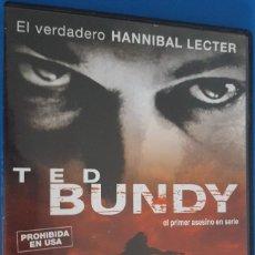 Cine: DVD / TED BUNDY (EL PRIMER ASESINO EN SERIE) - EL VERDADERO HANNIBAL LECTER, MATTHEW BRIGHT. Lote 221584241