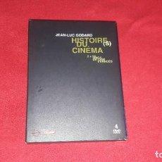 Cine: 4 DVD HISTOIRE DU CINEMA JEAN-LUC GODARD. 2X50 AÑOS DE CINE FRANCES. Lote 221585706