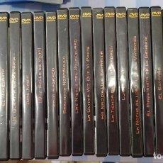 Cine: COLECCIÓN EN DVD. 22 OBRAS MAESTRAS DEL CINE. Lote 221585958