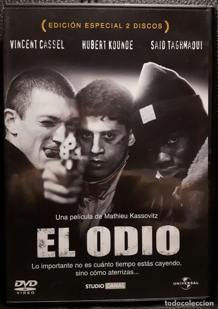 EL ODIO - DVD - EDICION ESPECIAL 2 DISCOS - VINCENT CASSEL - MATHIEU KASSOVITZ - NO USO CORREOS (Cine - Películas - DVD)