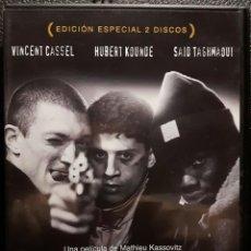 Cine: EL ODIO - DVD - EDICION ESPECIAL 2 DISCOS - VINCENT CASSEL - MATHIEU KASSOVITZ - NO USO CORREOS. Lote 221598390