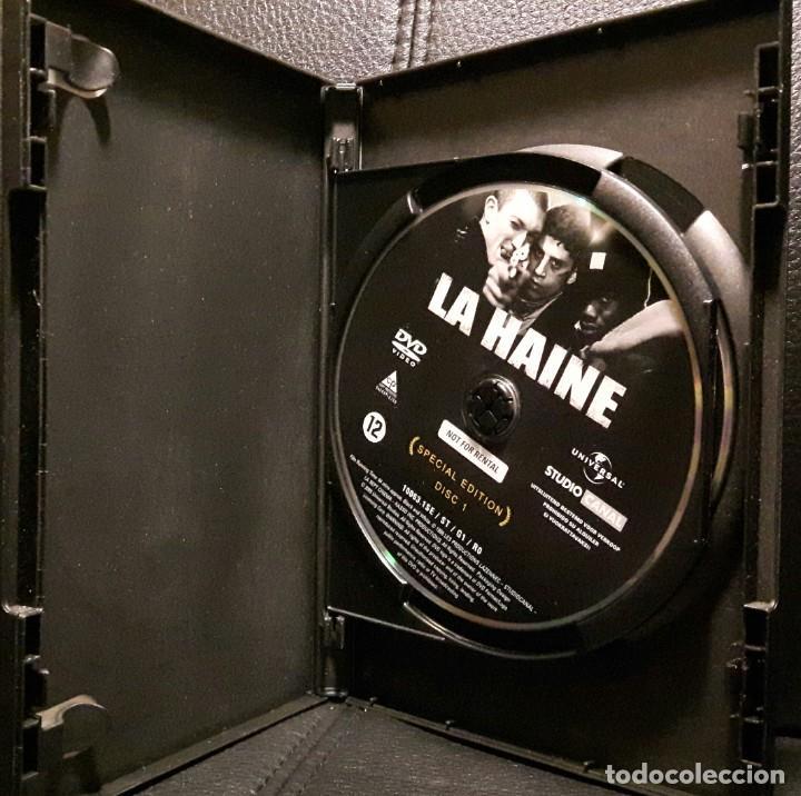 Cine: EL ODIO - DVD - EDICION ESPECIAL 2 DISCOS - VINCENT CASSEL - MATHIEU KASSOVITZ - NO USO CORREOS - Foto 3 - 221598390