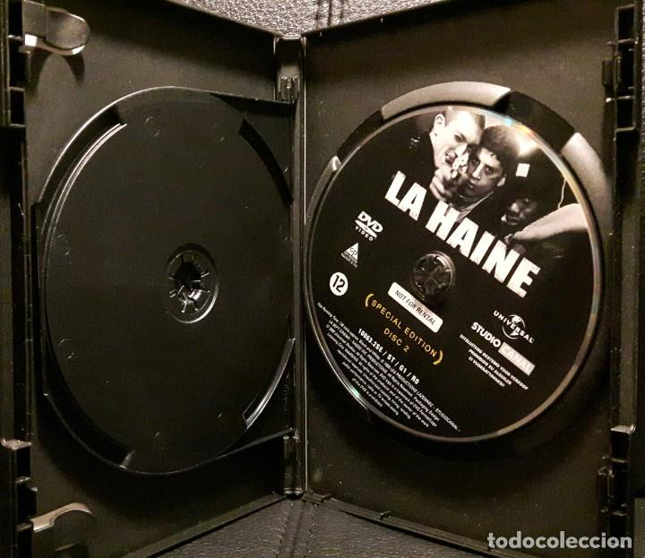 Cine: EL ODIO - DVD - EDICION ESPECIAL 2 DISCOS - VINCENT CASSEL - MATHIEU KASSOVITZ - NO USO CORREOS - Foto 4 - 221598390