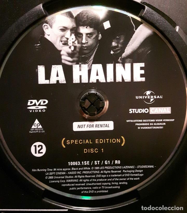 Cine: EL ODIO - DVD - EDICION ESPECIAL 2 DISCOS - VINCENT CASSEL - MATHIEU KASSOVITZ - NO USO CORREOS - Foto 5 - 221598390