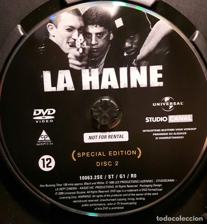 Cine: EL ODIO - DVD - EDICION ESPECIAL 2 DISCOS - VINCENT CASSEL - MATHIEU KASSOVITZ - NO USO CORREOS - Foto 6 - 221598390