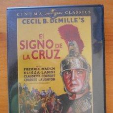 Cine: DVD EL SIGNO DE LA CRUZ - CECIL B. DEMILLE'S (HT). Lote 221638106