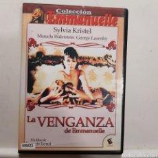 Cinéma: V144 LA VENGANZA DE MANUELA - DVD PROCEDENTE DE VIDEOCLUB. Lote 221663383