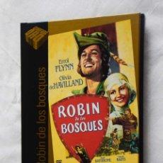 Cine: ROBIN DE LOS BOSQUES (DVD+LIBRO) - CINE DE ORO EL PAIS 29. Lote 221700786