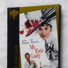 Cine: MY FAIR LADY (DVD+LIBRO) - CINE DE ORO EL PAIS 18. Lote 221700952