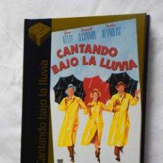 Cine: CANTANDO BAJO LA LLUVIA (DVD+LIBRO) - CINE DE ORO EL PAIS 22. Lote 221701127