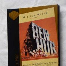 Cine: BEN HUR (DVD+LIBRO) - CINE DE ORO EL PAIS 21. Lote 221701501