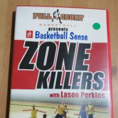 Cine: ZONE KILLERS WITH LASON PERKINS (FULL COURT BASKETBALL) DVD. Lote 221724023